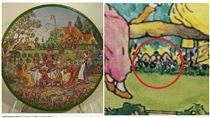 春宮,餅乾盒,繪畫,玄機,Huntley & Palmers,創作,畫家,惡搞/鏡報