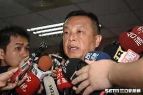 國防部發言人陳中吉。 圖/記者林敬旻攝