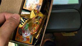 包裹,緩衝物,小熊軟糖,Dcard 圖/翻攝自Dcard
