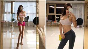 南韓,網紅,Belle,IG,運動,正妹,性感,人妻 圖/翻攝自IG
