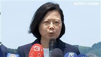 蔡英文總統致詞  圖/邱榮吉攝影