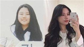 韓國YouTuber JINI, 減重成功。(圖/翻攝自IG)
