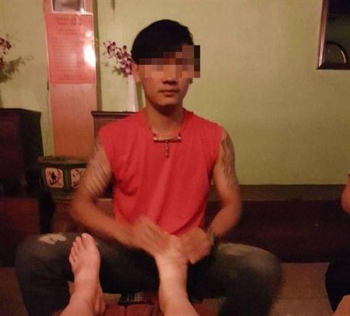 台女,泰國,按摩師,性侵,黑文化,半套,性服務(圖/翻攝臉書 曼谷大水)