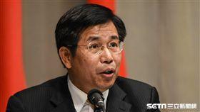 教育部長潘文忠出席中國大陸惠台31項措施因應記者會。 圖/記者林敬旻攝