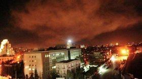 敘利亞,化武,美國,川普,英國,法國,報復,攻擊(圖/翻攝自推特)