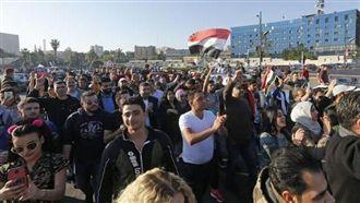 沒在怕!敘國民眾齊聚廣場力挺阿塞德