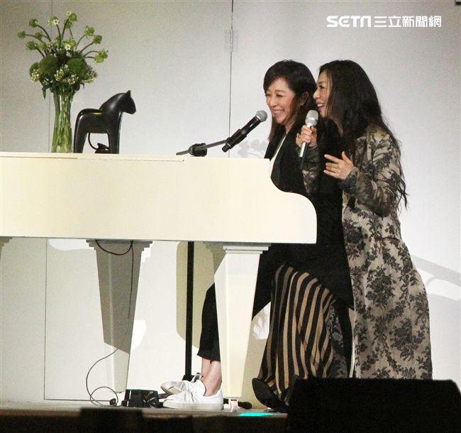 黃韻玲擔任萬芳演唱會音樂總監。(記者邱榮吉/攝影)