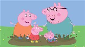 佩佩豬正面照曝光。(圖/翻攝自臉書)