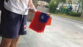 老外賣國旗1800