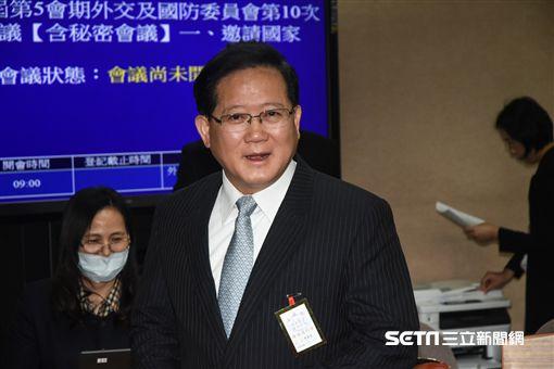 國家安全局副局長陳國恩受邀前往立法院國防及外交委員會備詢。 圖/記者林敬旻攝