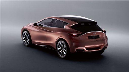Infiniti與Mercedes-Benz GLA共用前驅底盤的Q30。(圖/翻攝Infiniti網站)
