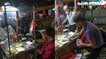 新竹城隍廟炭烤香腸攤/陳姓網友提供