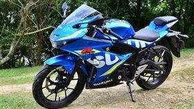 Suzuki GSX-R150。(圖/鍾釗榛攝影)