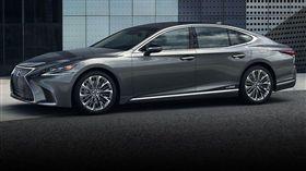 Lexus LS有望新增氫燃料電池動力。(圖/翻攝Lexus網站)