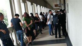 大馬法院年輕人排隊離婚(圖/臉書)