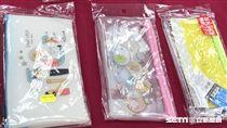 消基會針對市售塑膠類文具測試,竟發現握筆器、筆袋塑化劑超標。(圖/消基會提供)
