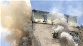 高雄市苓雅區大順三路一棟5樓公寓今年3月底發生火警