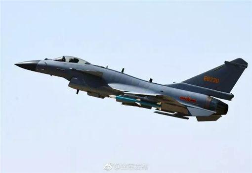 ▲解放軍空軍殲-10C戰機。(圖/中國大陸國防部微博)