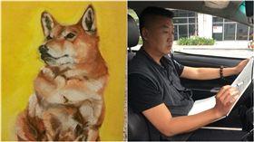 計程車司機,小黃司機,畫畫