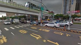 台中台灣大道、文心路口(圖/Google Map)