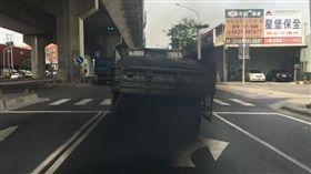 烏賊車,車牌,高雄,檢舉,柴油,貨車,檢驗,空汙(圖/Yen-Min Wu授權提供)