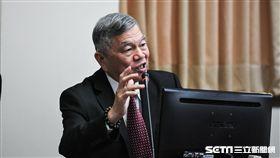 經濟部長沈榮津備詢。 圖/記者林敬旻攝