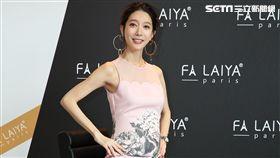 宋米秦出席美妝保養品牌代言活動,開心公佈肚中小孩性別。