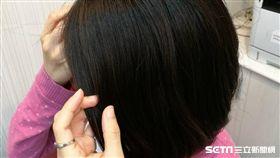 洗髮,頭皮屑,梳頭髮(示意圖/記者楊晴雯攝)