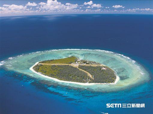 伊利特女士島有大堡礁的綠寶石之稱。(圖/澳洲昆士蘭州旅遊暨活動推廣局提供)