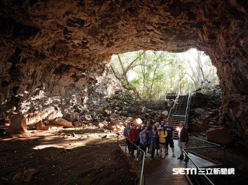 烏達拉火山國家公園擁有全世界最長的火山熔岩管道。(圖/澳洲昆士蘭州旅遊暨活動推廣局提供)
