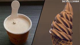 輔大食科冰淇淋。(圖/記者黃峻廷攝影)