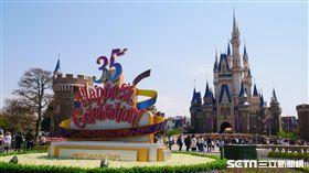 東京迪士尼,35週年,迪士尼。(圖/記者馮珮汶攝)