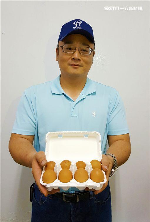 耗資三億,只為孵出一顆好蛋的傻瓜老爸(良食禾蛋)!圖/貝殼放大提供