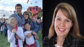 西南航空空難死者險被吸出窗,家屬感謝乘客拉她一把。(圖/翻攝Daily Mail)