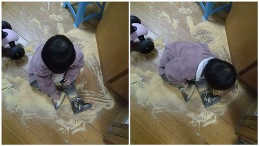 大陸,奶粉,玩沙,泡奶粉,女童,肚子痛,調皮/杭州19樓論壇