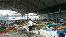 大陸菜市場。(圖/翻攝百度百科)