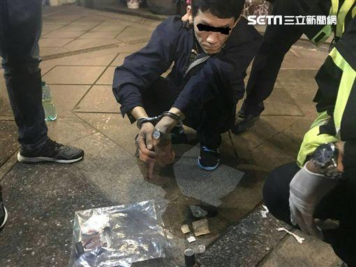 海洛因,燒肉粽,襲警,吸食器,萬華