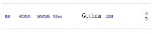 Gotham商標,智財局,王良輔律師,高登律師。翻攝高登律師臉書粉絲頁