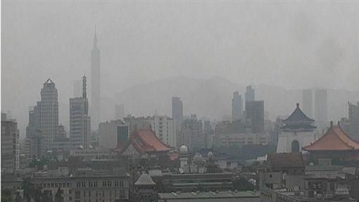 台北101空汙(圖/翻攝自環保署官網)