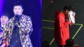 潘瑋柏的「Alpha 創使者世界巡迴演唱會」,談病情淚崩。合成圖/翻攝微博