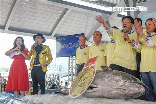 台灣第一鮪,拍賣,屏東縣長,潘孟安,第一鮪拍賣會,第一鮪,黑鮪魚