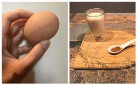 早餐常見搭配!豆漿、雞蛋一起食用會中毒 專家:煮熟就好(圖/合成圖)