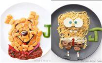 神人級媽媽!「卡通餐」治兒挑食毛病 (圖/翻攝自「jacobs_food_diaries」IG)