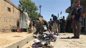 阿富汗選民登記中心驚傳爆。(圖/翻攝TOLOnews)