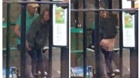 ▲英國情侶喝醉在公車站做愛。(圖/翻攝自dailystar)