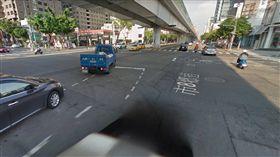 台中,馬路,爛路,文心路(圖/Google Map)