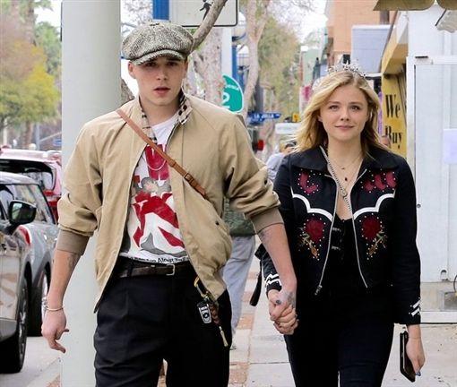 貝克漢大兒子布魯克林跟前女友。翻攝自Pinterest