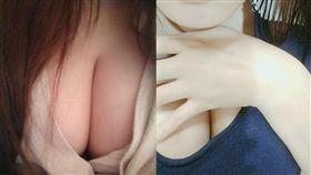 女生,身材,胸部(圖/爆廢公社)