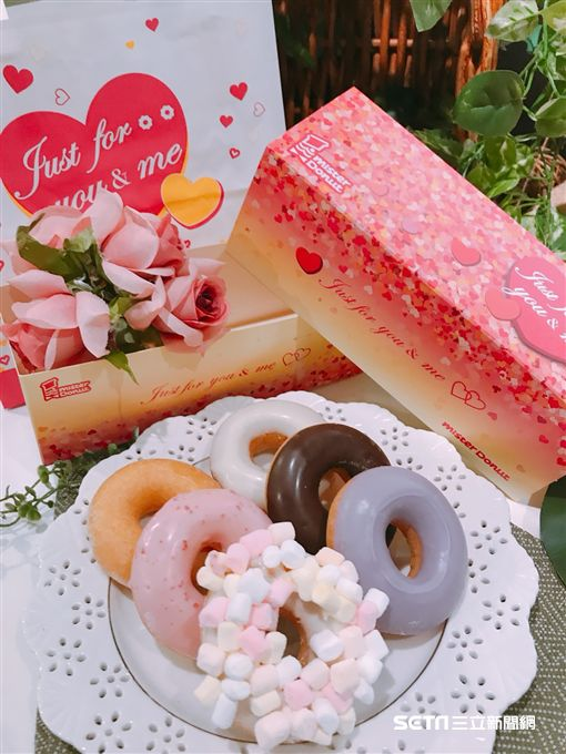 Mister Donut推出日式糰子,洞口加代,。(圖/記者簡佑庭攝)