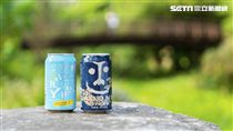 日本人氣精釀啤酒品牌YO-HO Brewing推出:海鹽柚子艾爾啤酒,印度青鬼IPA。(圖/臺虎精釀提供)